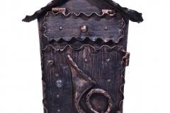Kalviška pašto dėžutė su bumbulu NAMELIS