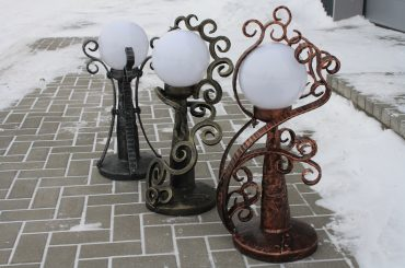 Blacksmith light fixtures