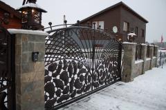 Gate, wicket gate, fence CLOUDS