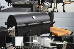 "GAM-1 Barbecue ""ECO"" with a firebox"