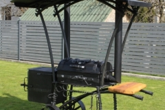 GAM-5 Forged barbecue PERFECTION with cover
