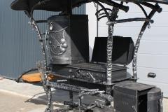 Blacksmith outdoor cooker TOP