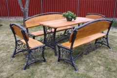 GAM- 2 Outdoor furniture set PINTOS VOLIUTOS