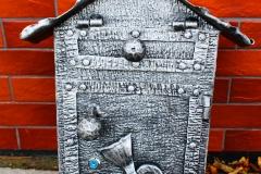 Blacksmith postbox HOUSE