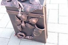 Blacksmith postbox NATURAL