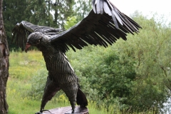 GAM-2 Sculpture PERCHING EAGLE