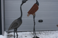Cranes have landed