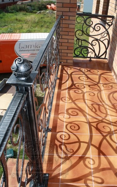 Balcony rail ELEGANCE