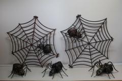 GAM-1 Spider silk with a spider