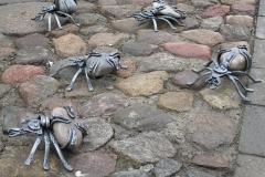 Кованые пауки СЕМЬЯ