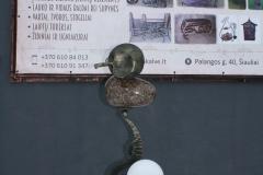 Stāvlampa ar akmeni KOSMOS nr. 7