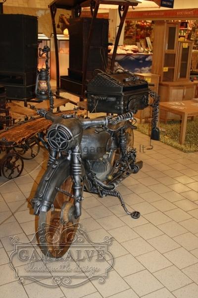 Kalts grils motocikls SENLAIKU nr. 24