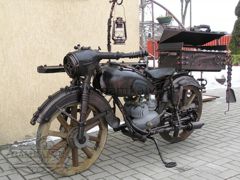 Kalts grils motocikls SENLAIKU nr. 25