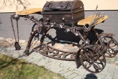 Mangals ar riteņiem VĪNOGAS nr. 2