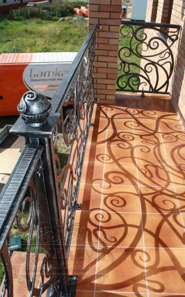 Balkono turėklai ELEGANCIJA