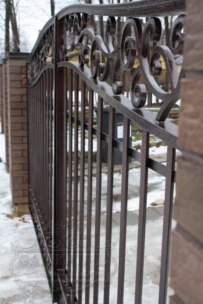 Ворота и калитка КЛАССИКА