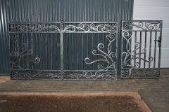 Ворота и калитка ДЕКОР