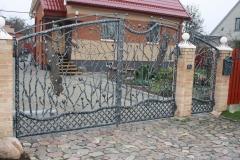 Ворота и калитка СИМВОЛИКА