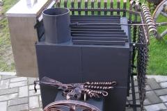 Кованая печь для бани Nr.1