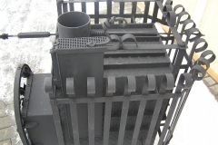 Кованая печь для бани Nr.10