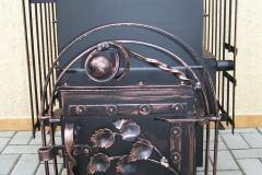 Кованая печь для бани Nr.3