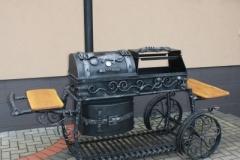 GAM-9 Кованый мангал-шашлычница для стейка