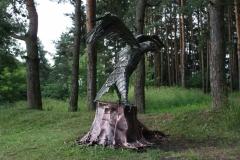 GAM-1 Скульптура приземляющийся орел