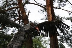 GAM-3 Скульптура приземляющийся орел