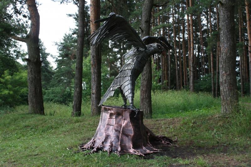 GAM-1 Skulptūra nutūpęs ERELIS