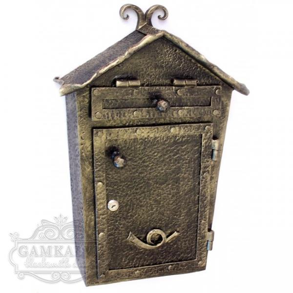 Kalviška pašto dėžutė tiesi NAMELIS