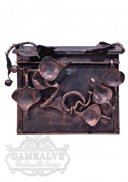 Pašto dėžutė LAPŲ MOTYVAI