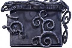 Pašto dėžutė METALO NĖRINIAI