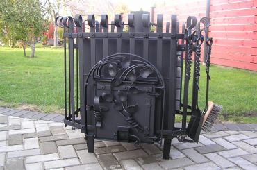 Blacksmith sauna stoves