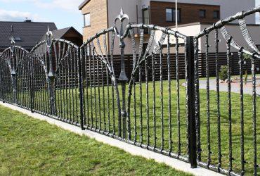 Кованые ворота, заборы, козырьки