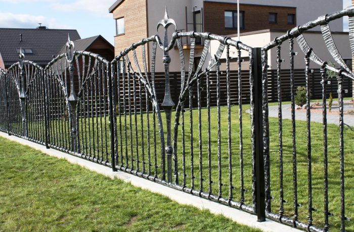 Blacksmith fence